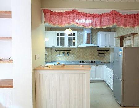 80后设计唯美日式简约田园家 厨房装修效果图