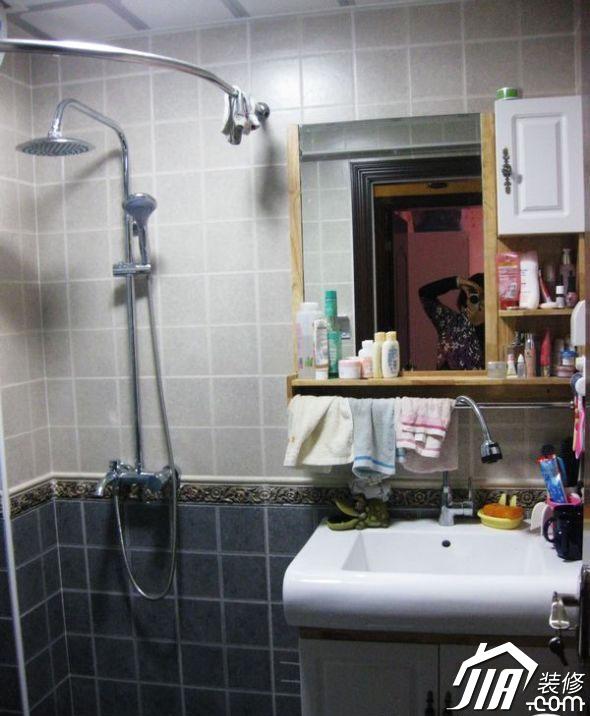 轻松打造两居家装装修效果图 交换空间小户型 小卫生间装